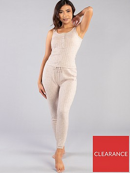 boux-avenue-lillie-pointelle-vest-and-legging-pj-set-oatmeal