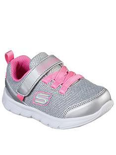 skechers-toddler-girl-comfy-flex-trainer-silver