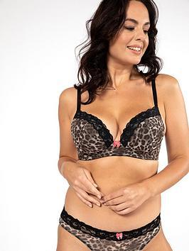 dorina-dorina-power-animal-curve-lightly-padded-plunge-bra