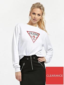 guess-vinyl-logo-sweatshirt-white