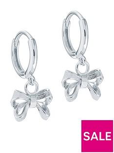 ted-baker-perrie-petite-bow-huggie-earring-silver