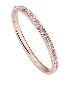ted-baker-clemaranbsphinge-crystal-bangle--nbsprose-gold