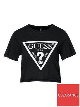 guess-logo-crop-top-black