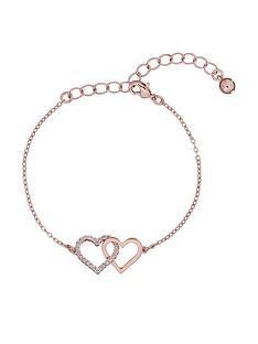 ted-baker-larsaenbspcrystal-linked-hearts-bracelet-rose-gold