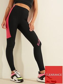 guess-colourblock-microfiber-leggings-black