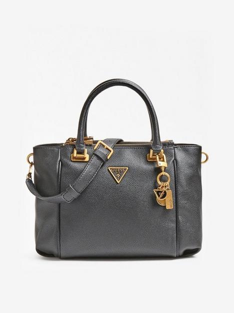guess-destiny-logo-cross-body-satchel-black