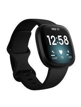 Fitbit Versa 3 - Black/Black