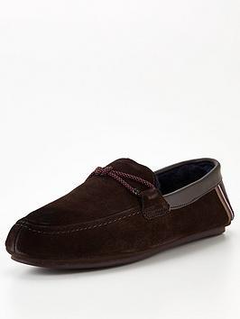 ted-baker-seffel-suede-moccasin-slippers-dark-brown