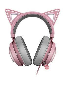 razer-kraken-kitty-edition-pcnbspgaming-headsetnbsp--quartz