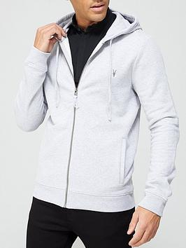 allsaints-raven-zip-through-hoodie-grey