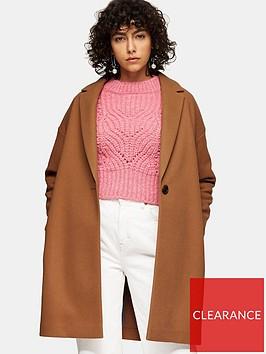 topshop-jenny-coat-camel