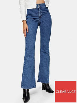 topshop-flared-jeans-blue