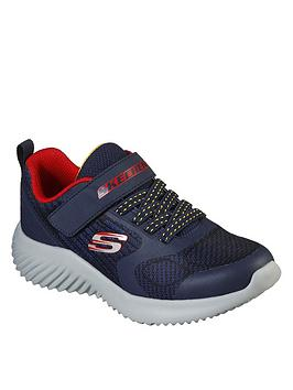 skechers-boys-bounder-gorven-trainer-navy