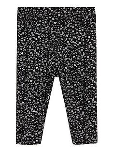 mango-baby-girls-floral-printed-leggings-black