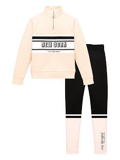 v-by-very-girls-half-zip-amp-panelled-legging-set-pinkgrey