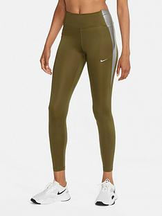 nike-the-one-colourblock-legging-khaki