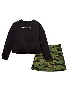 v-by-very-girls-long-sleeve-jersey-top-and-camo-skirt-set-multi