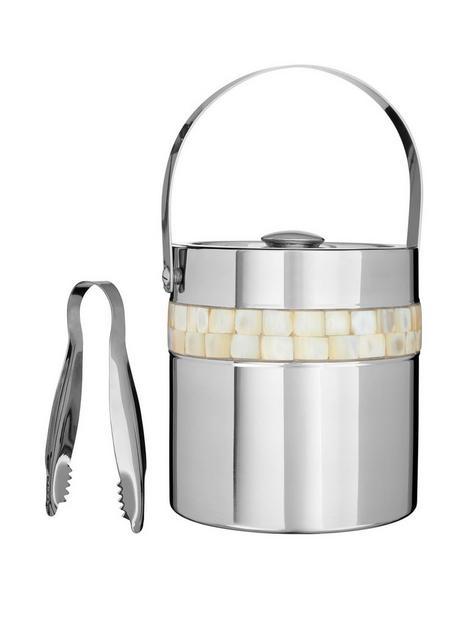 premier-housewares-mother-of-pearl-ice-bucket