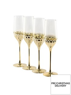 waterside-art-deco-champagne-flute-glasses-ndash-set-of-4