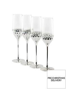 waterside-set-of-4-platinum-art-deco-flute-glasses