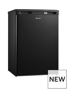 swan-sr70201b-55cmnbspwide-under-counter-larder-fridge-black