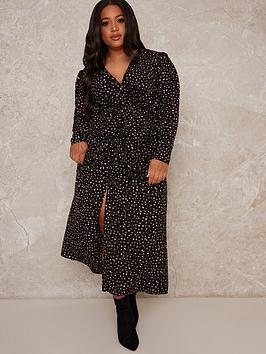 chi-chi-london-natasa-printed-midi-dress-black