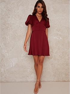 chi-chi-london-sonoma-skater-midi-dress-berrynbsp