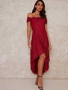 chi-chi-london-mellie-lace-high-low-dress-burgundy