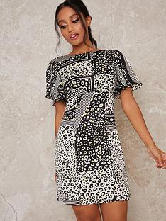 chi-chi-london-petite-chi-chi-petite-vida-printed-mini-dress-monochrome