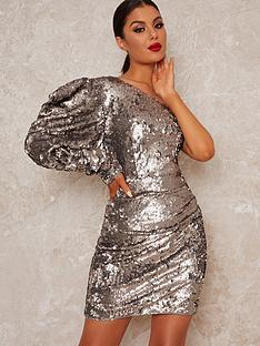 chi-chi-london-addie-one-shoulder-sequin-mini-dress-blue