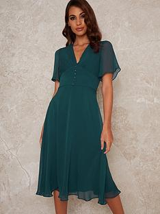 chi-chi-london-oria-skater-midi-dress-teal