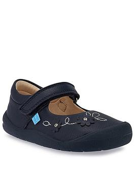 start-rite-girls-flex-shoe-navy