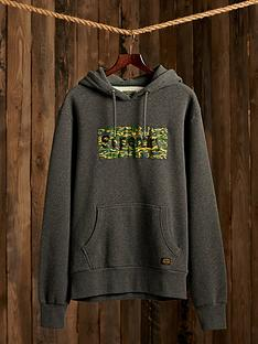 superdry-canvas-hoodie-charcoal