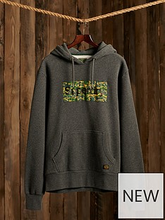 superdry-canvas-hoodie-charcoal