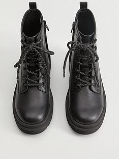 mango-girls-leather-lace-up-boots-black
