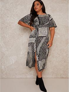 chi-chi-london-curve-vida-curve-printed-midi-dress-monochrome