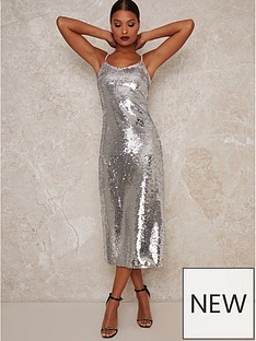 chi-chi-london-meemi-cowl-neck-bodycon-midi-dress-silver