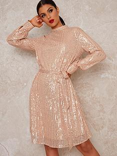 chi-chi-london-johanah-dress-rose-gold