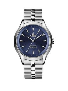vivienne-westwood-vivienne-westwood-the-saville-blue-sunray-dial-stainless-steel-bracelet-ladies-watch