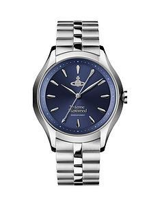 vivienne-westwood-vivienne-westwood-the-saville-blue-sunray-dial-stainless-steel-bracelet-ladies-watch
