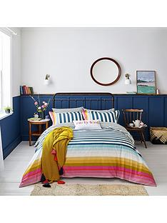 joules-cambridge-stripe-100-cotton-percale-duvet-cover-set
