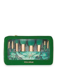 spectrum-spectrum-malachite-jet-setter-8-piece-mini-brush-set