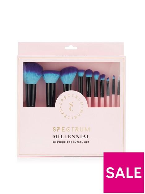 spectrum-specrtrum-essential-pink-10-piece-brush-set