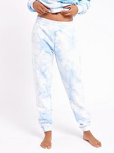 chelsea-peers-tie-dye-lounge-jogger-blue