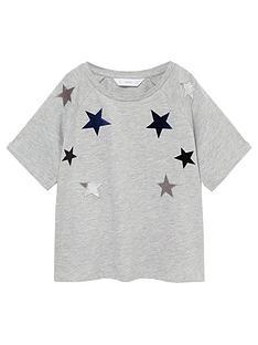 mango-girls-velvet-embroidered-stars-short-sle