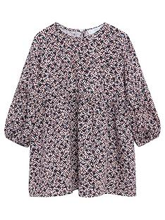 mango-baby-girls-floral-long-sleeve-dress-pink
