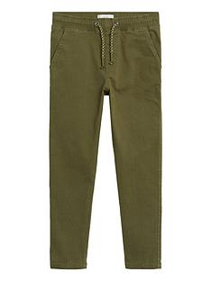 mango-boys-elasticated-waist-trousers-khaki