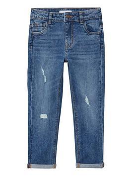 mango-boys-distressed-regular-fit-jeans-mid-blue