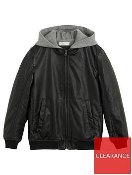 mango-boys-hooded-faux-leather-jacket-black