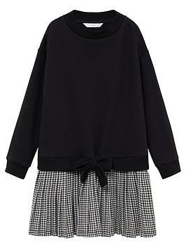 mango-girls-dogtooth-2-innbsp1-sweat-dress-black